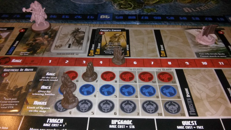 Blood Rage: Upgrades