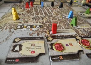 Plansza w grze - Lords of Waterdeep
